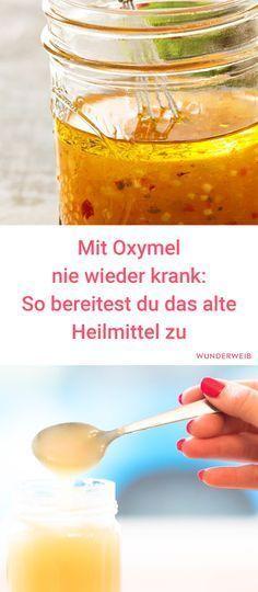 Oxymel ist ein altes Heilmittel, das du ganz leicht noch heute sinnvoll verwenden kannst.