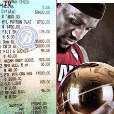 Miami Heat's tab.