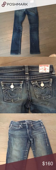 True Religion brand Jeans! size 12 worn once. no rips or damage done to the jeans True Religion Jeans