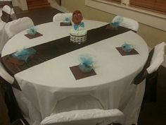 Baby Shower i did Breakfast At Tiffanys, Baby Shower, Table, Furniture, Home Decor, Babyshower, Decoration Home, Room Decor, Breakfast At Tiffany's