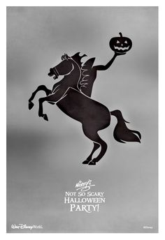 Check out this video of the Headless Horseman as he visits Mickey's Not-So-Scary Halloween Party. #halloween #WaltDisneyWorld #NotSoScary
