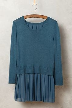 Moth Skirted Titine Pullover #anthrofave
