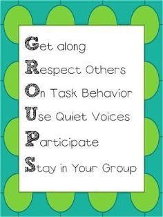 Cooperative Learning Poster FREEBIE by bridgett