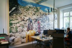VICE OFFICE BERLIN : Ausgefallene Bürogebäude von EXTRATAPETE
