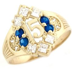 Shop a great selection of Jewelry Liquidation Yellow Gold Simulated Birthstone CZ Stylish Quinceanera 15 Anos Ring. Find new offer and Similar products for Jewelry Liquidation Yellow Gold Simulated Birthstone CZ Stylish Quinceanera 15 Anos Ring. Large Diamond Rings, Diamond Promise Rings, Sapphire Birthstone, Blue Sapphire, Sweet 16 Rings, Oval Morganite Ring, Rose Gold Brushes, Bridal Rings, Quinceanera Ideas
