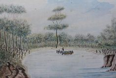 Taking of Colebee and Bennelong 1789 by William Bradley