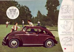 1952 VW Beetle Brochure