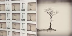 © 2015 ➤ Zen in Stamps The Deutsche Post has a special service to create your own stamps and publisher Alexander Scholz​ from Vevais Werkdruck​ didn't waste any time - WERKDRUCK No. 38: http://www.galerievevais.de/products/item.reprint_38_koentjoro.html