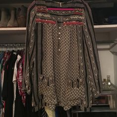 Free people dress Missing a button! Pictured! Price reflects. Free People Dresses