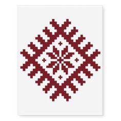 Shop Traditional Latvian Folk Design Symbols Tattoos created by Ilze_Lucero_Designs. Cross Stitch Designs, Cross Stitch Patterns, Cross Stitch Pillow, Note Tattoo, Sun Moon Stars, Baby Oil, Symbolic Tattoos, Crochet, Embroidery