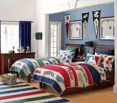 boys sports room | Sport Themed Boys Room with Unique Design / Designs Ideas and Photos ...