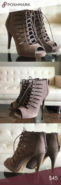 Brand New Fergalicious laced heels 😍 Brand New Laced fergalicious heels 👠 super cute😍🙏😄  closet clean out sale!! 😄😄😍 Fergalicious Shoes Heels