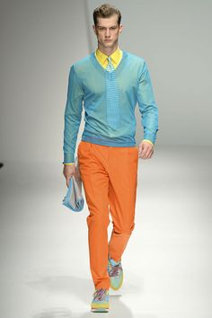 #Fashion #Mensfashion #Salvatoreferragamo Tendencias primavera 2013 Vogue Hombre Color