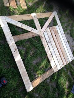 Image result for diy pallet garden fence gate
