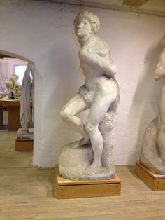 Den oprørske slave. Michelangelo Buonarroti ca. 1514-1516