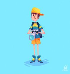 Character set (Vector illustrations) on Behance