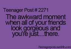 Every time I am around @Jessica Moncada!!