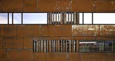 Metallwerkstueck | Neubau Firmensitz DachTechnik Briel in Bad Laasphe | msah architektur