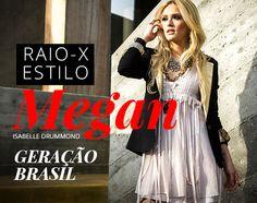 """Raio-x: o estilo de Megan (Isabelle Drummond), em """"Geração Brasil""""."""