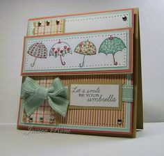Umbrella card#Repin By:Pinterest++ for iPad#