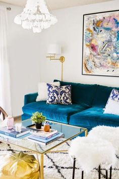 10 quirky and incredible spaces created with rugs and fabric.