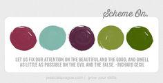 {Color} Scheme On: Focus Edition
