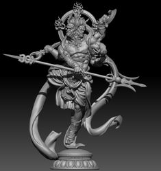 modelling for printing and resin casting Liverpool Fc Wallpaper, Ganesha Tattoo, Digital Sculpting, Samurai Warrior, Buddhist Art, Japan Art, Sculpture Clay, Gods And Goddesses, Religious Art