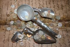 Scoops  Supplies  Metal  Aluminum  Farmhouse Chic  by CrownWillow, $10.00