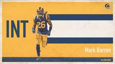 Creative for 2017 Throwback Games Sport Editorial, Yearbook Design, La Rams, Print Layout, Nfl, Football, Gallery, Sports Posters, Design Boards