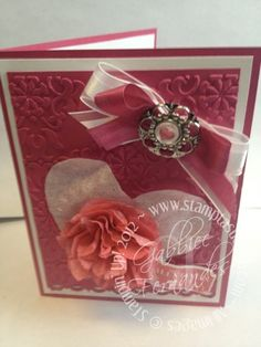 Stampin  Scrappin with Stasia Valentine Stamping Royalty