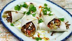 Cajun Rijst &; Bbq Chicken Burrito recept | Smulweb.nl
