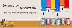 Painters Dubai – 0553921289