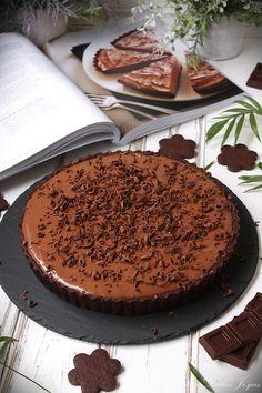 Tarta sedosa de chocolate - Mis Dulces Joyas Anna Olson, Amazing Cakes, Nutella, Tiramisu, Oreo, Food And Drink, Ice Cream, Sweets, Chocolate Cakes