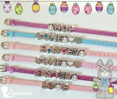 Ready made Easter bracelets. Look for them in the Ready-2-Go section. Get yours before they are sold out! www.myheartsparkles.com