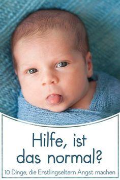 10 harmlose Dinge, mit denen Neugeborenen uns erstmal einen Schrecken einjagen