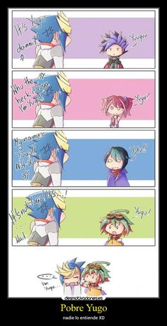 carteles anime yugioh yugo yuya fusion desmotivaciones