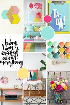 Brand & Website Design for Chameleon Creative Content Brand Moodboard for Chameleon Creative Content Website Design Inspiration, Color Inspiration, Brand Inspiration, Web Design, Graphic Design, Branding Design, Branding Ideas, Identity Branding, Corporate Design