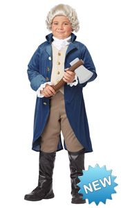 Make Your Own George Washington Costume Ideas
