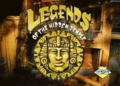 Legends of the Hidden Temple - I loved this show!