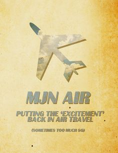 MJN Air - Putting the excitement back in air travel... sometimes too much so.