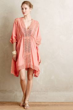 Isola Laced Caftan by Love Sam #anthrofave