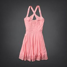 Pier View Beach Skater Dress | HollisterCo.com