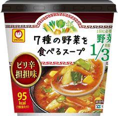 マルちゃん 7種の野菜を食べるスープ ピリ辛担担味