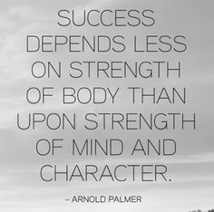 """Mental toughness is definitely more important than physical preparation.  You need both, but with a strong mind, you can play with your """"B"""" game and still win! (scheduled via http://www.tailwindapp.com?utm_source=pinterest&utm_medium=twpin)"""