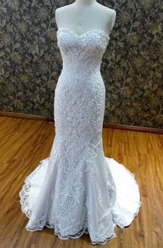Custom #weddingdresses like this strapless design can be made to order for you with any design changes. We are in the #USA and also can make #replicas of beaded white #bridal gowns too. Our version will look like the original but cost way less. Get pricing on any design when you email us.