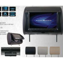 """Power Acoustik Hdvd-92ccp Universal Headrest Monitors With Tft/lcd Screen With D by Power Acoustik. $295.98. TWO 9"""" HEADREST MONITORS WITH BUILT-IN TFT/LCD SCREENS & BUILT-IN DVD USB & SD(TM) CARD PORTSUNIVERSAL REPLACEMENT BUNUNIVERSAL MOUNTING SYSTEM.375"""" POLE WITH .5"""" & .5625"""" POLE ADAPTORS & POLE VARIABILITY OF 4.75"""" ~ 8.25""""INCLUDES SKINS IN GRAY BEIGE & BLACK TO MATCH VEHICLE INTERIORUPC : 709483041912Shipping Dimensions : 18.00in X 8.50in X 12.00inEstimated Shipping Weight : 12.0"""