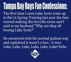 Tampa Bay Rays Fan Confession: Luke, Luke, Luke, Luke, Luke, Luke!