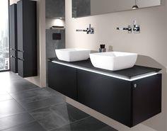 Cuartos de baño con iluminación LED de Villeroy & Boch
