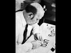 Grandes maestros de la tipografía: Max Miedinger - Helvetica #design