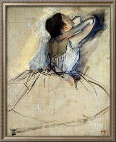 Dancer, C1874 Giclee Print by Edgar Degas at Art.com